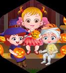 Baby Hazel Halloween Party