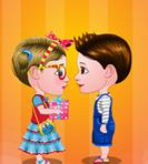 Baby Hazel & Liam Valentines Day